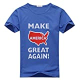 HGLee Printed Personalized Custom Make America Great Again Women's T-Shirt Tshirt Tee