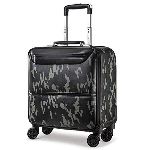 Rolling Laptop Case (LYXPUZI Reisetaschen Business Trolley Premium Rolling Case Laptops mit Über-Nacht-Fach, Camouflage Reisetaschen Handgepäck (Color : Camouflage, Size : 39×20×46cm))