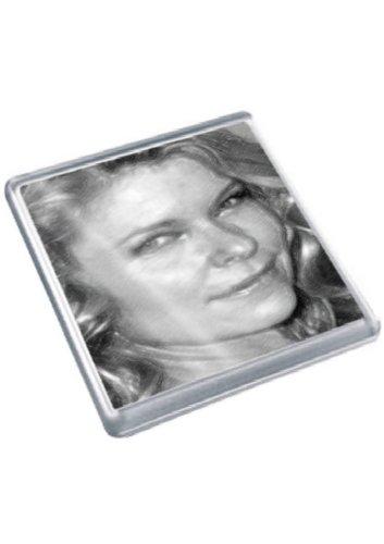 KATE VERNON - Original Art Coaster #js001 (Kate Beschnitten)