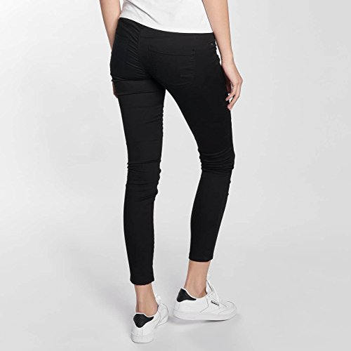 Vero Moda Donna Pantaloni / Pantalone chino vmHot Five Biker Ankle Nero