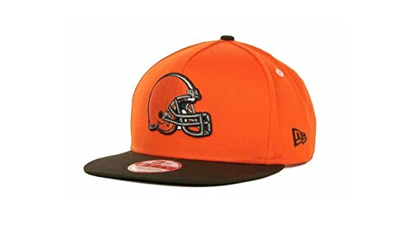 factory authentic buying now good looking New Era NFL 9Fifty Turnover Snapback 2 Tone Cap Cleveland Browns ...