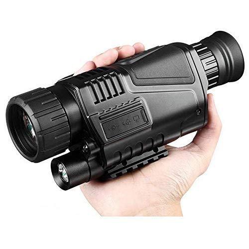 WYJ Hd Langlebig 5X40 Tactical Digital Ir Infrarot Jagd Nachtsichtgerät Scope Night Vision Monocular Hunt Nachtsichtgerät Teleskop 4Gb, b, a