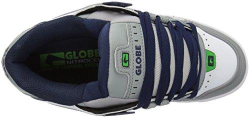 Globe Sabre GBSABR Unisex-Erwachsene Sneaker Grey/Blue/Green