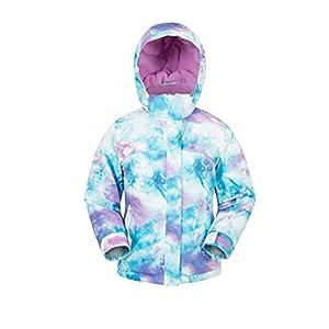 Mountain Warehouse Enchanted Bedruckte Skijacke für Kinder – Snowboardjacke, warme Winterjacke, mit Fleece-Futter – Jungen und Mädchen – für den Skiurlaub