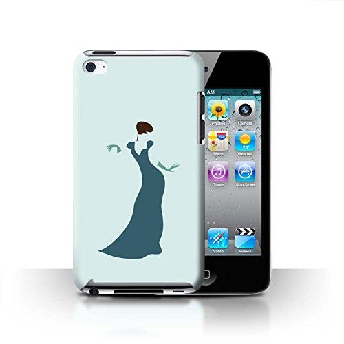 Stuff4 Hülle / Case für Apple iPhone 7 Plus / Martini-Glas/Alkohol Muster / Teal Mode Kollektion Frau/Kleid/Schick