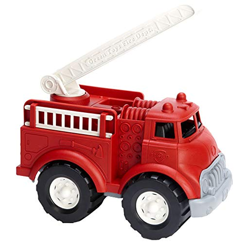 ChanYYw Toy Truck Friction Powered Simulation Extending Rescue Ladder Fire Model for Kids Educational Toy Gift (Ladder Fire Truck Spielzeug)