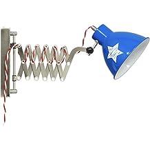 Lief Lámpara de Pared, E27, Azul