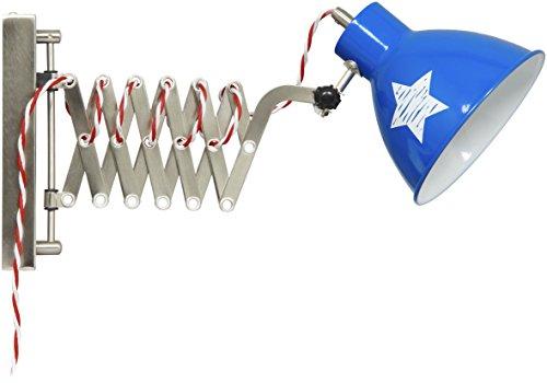 lief! Wandleuchte mit Stern aus Metall, Amerika-Look LF12015