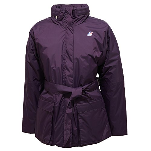4388R giubbotto donna K-WAY GISELLE THERMO PLUS piumino viola jacket woman [8/S]
