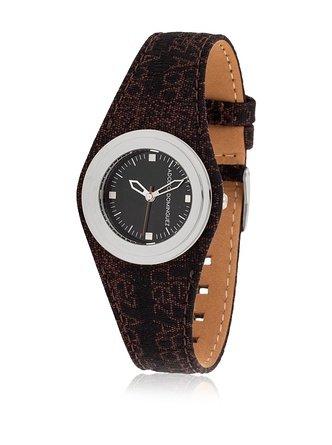 Adolfo Dominguez Watches 69000 - Reloj de Señora Cuarzo Correa de Piel Roja