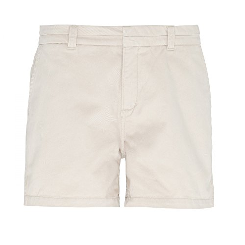 Asquith & Fox Damen Shorts Khaki