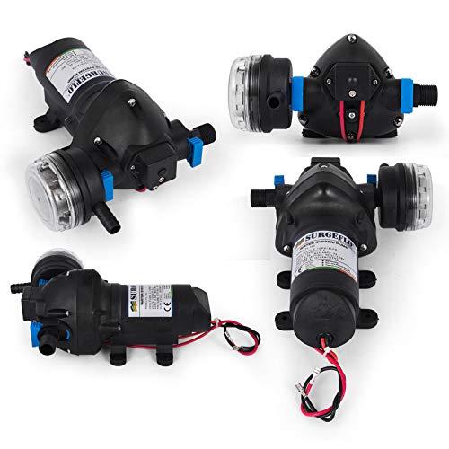 BananaB FL-703 druckwasserpumpe 12v Membranpumpe diaphragm pump 10l/min High Pressure Water Pump 8 LPM Wasserpumpe