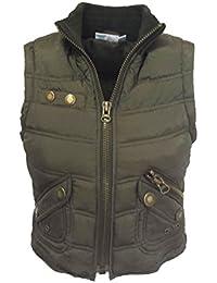 Trendy brown vest (807)