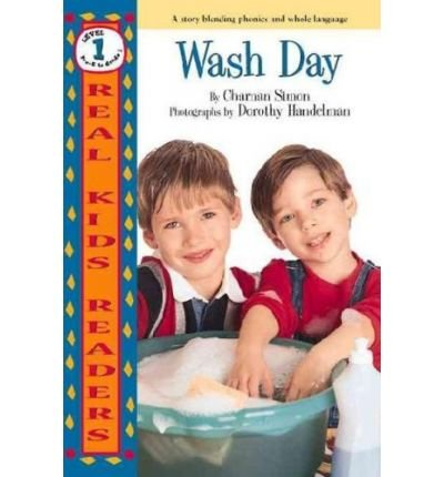 { WASH DAY (REAL KID READERS: LEVEL 1 (PAPERBACK)) } By Simon, Charnan ( Author ) [ Aug - 1999 ] [ Paperback ]