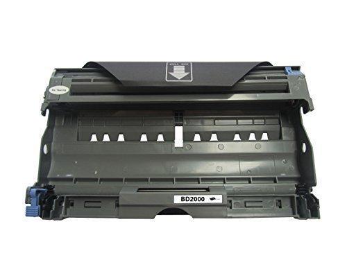 Preisvergleich Produktbild Troner kompatibel für Brother DR 2000 DR 2005, 12.000 Seiten, Trommeleinheit HL2030 HL2040 HL2070N MFC 7820 7420 DCP 7010 7020 7025