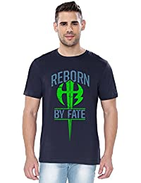 The Souled Store WWE Authentic The Hardy Boyz Sports Printed Premium NAVY BLUE Cotton T-shirt for Men Women and Girls