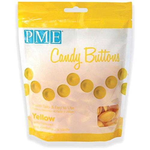 Botones de Caramelo en Amarillo PME 340 g