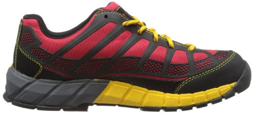 Caterpillar Streamline Ct S1p, Bottes de Sécurité Homme Multicolore (True Red/Black)