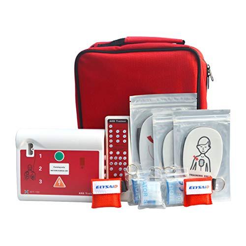 AED-Übungseinheit für das HLW-Training mit Menüführung in Spanisch und Englisch