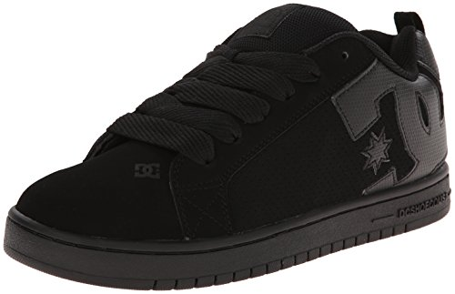 DC Shoes  COURT GRAFFIK M SHOE XKKK, Sneakers basses homme Noir (black/black/black Xkkk)