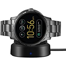 Ceston Cargador Charger Para Smartwatch Fossil Q Marshal (Negro)