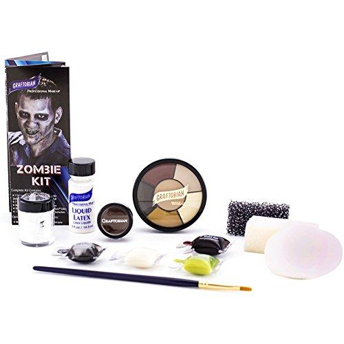 Deluxe Zombie Makeup Kit Standard -