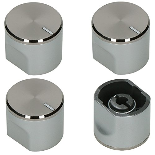 spares2go Einstellknopf Schalter für Samsung gn641ffbd Backofen Herd Herd (4Stück)
