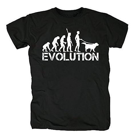 TSP Evolution Hund T-Shirt Herren XL