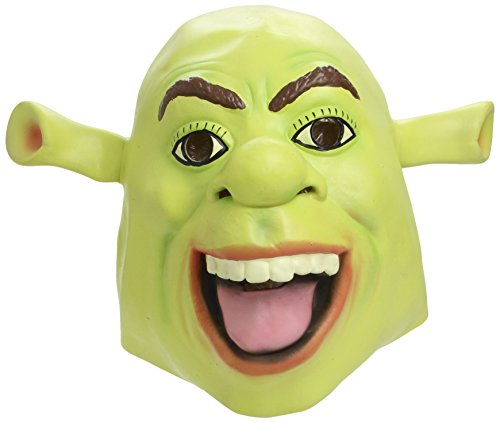 Shrek Latex-Maske, One Size (Ideen Kostüm Wild Themen)