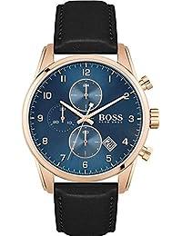 Hugo Boss Quartz Montre avec Bracelet en Cuir 1513783