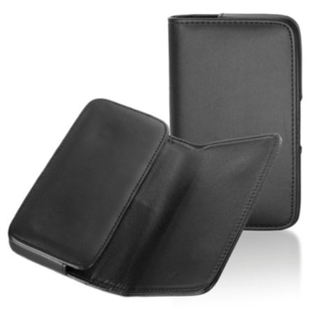 Gütersloher shopkeeper étui de protection avec clip ceinture pour téléphone portable samsung galaxy noir a7