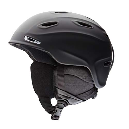SMITH Herren Helm Aspect Skihelm Schwarz Matt 59-63
