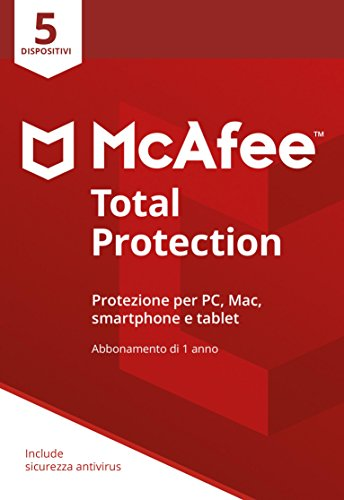 McAfee MTP 5 Total Protection con 5 Dispositivi