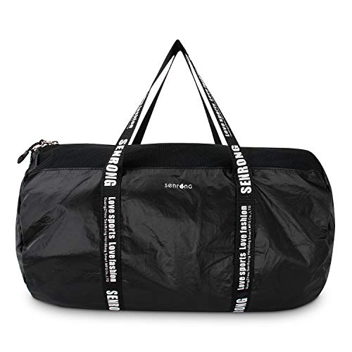 3c032c6ffd Senrong Ultralight Strong Tyvek Paper Duffel Bag, High Capacity Waterproof Sports  Bag, Travel Tote
