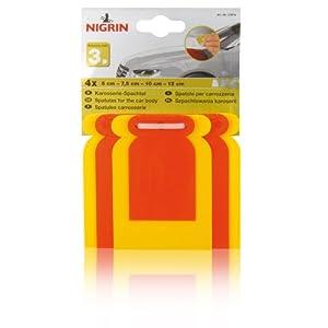 NIGRIN 21014 Karosserie-Spachtelsatz, 4-teilig