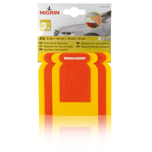 Nigrin 21014 Karosserie-Spachtelsatz, 4-teilig Test