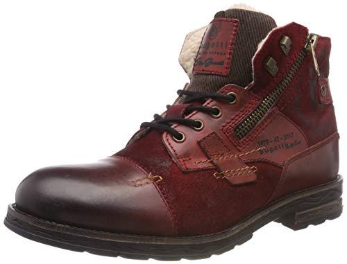 bugatti Herren 321612501214 Klassische Stiefel, Rot, 43 EU