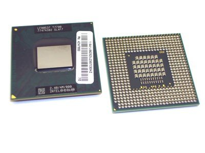 Intel® Core(TM)2 Duo Processor T7700 (4M Cache, 2.40 GHz, 800 MHz FSB), SLAF7, PPGA478, PBGA479 -