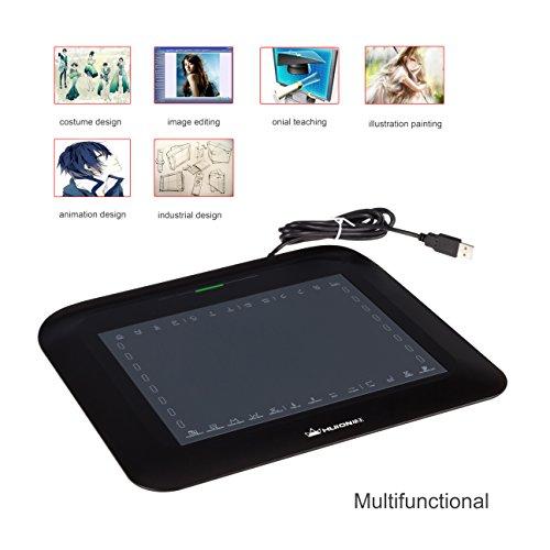 Huion-Tableta Gráfica Digitalizadora P608N de Presión del Lápiz par