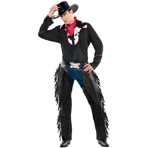 Amscan neuen Herren Wild West Outlaw Cowboy Kostüm Erwachsene Party Outfit