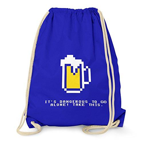 TEXLAB-Dangerous Beer-Turn sacchetto Marine taglia unica