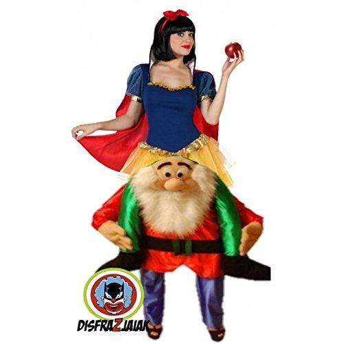 Imagen de disfraz despedidas de soltera de blancanieves sobre enano