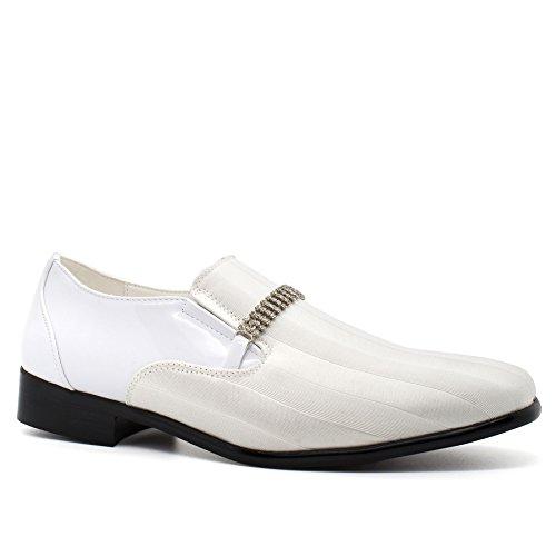 London Footwear , Sandales Compensées homme Blanc