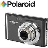 """Appareil photo numerique ultra compact Polaroid iE826 de 18 megapixels (18 Mpx, zoom optique 8x, batterie Li-Ion, ecran 2,4"""") (gris)"""