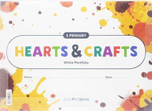 HEARTS & CRAFTS WHITE NOTEBOOK 3 PRIMARIA