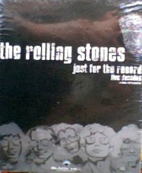 THE ROLLING STONES:JUST FOR THE RECORD-FIVE DECADES(REGION 2)
