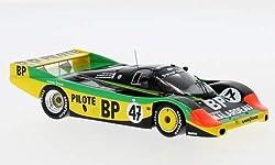 Unbekannt Porsche 956, No.47, 24h Le Mans, 1983, Modellauto, Fertigmodell, Spark 1:43
