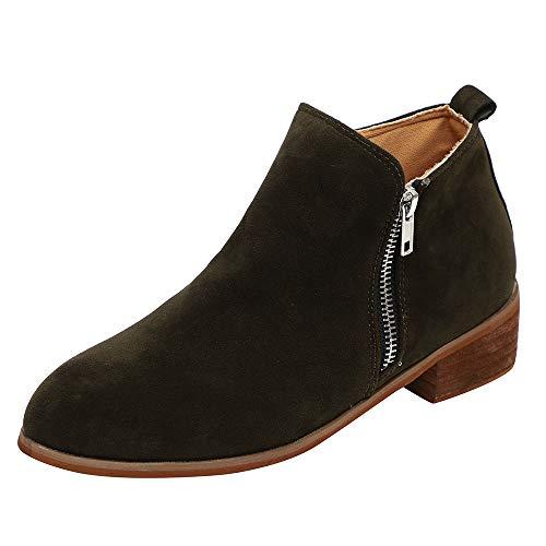 Damen Stiefeletten Damenschuhe Boots High Heels Overknees Stiefel -