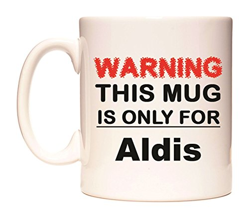 WARNING THIS MUG IS ONLY FOR Aldis Becher von WeDoMugs