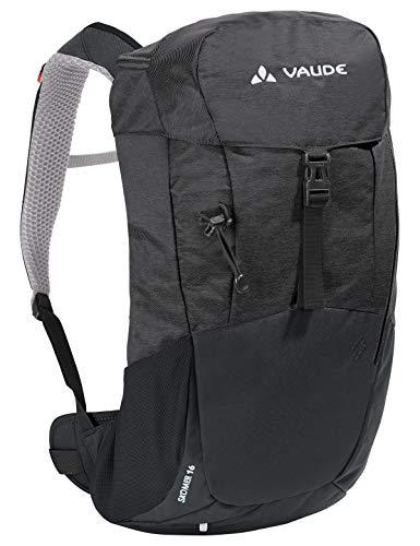 VAUDE Damen Women's Skomer 16, Kompakter Wanderrucksack für Tagestouren Rucksäcke15-19l, Black, one Size
